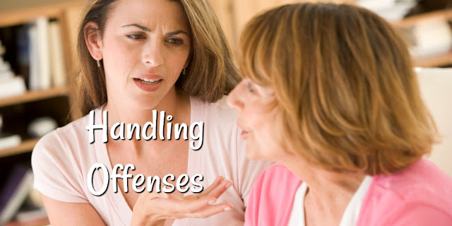 How to Handle Offenses Biblically