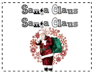 Santa Claus book freebie