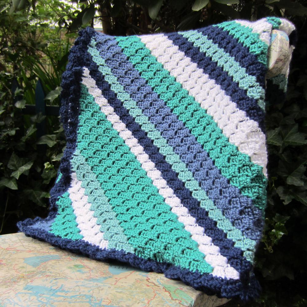 Peaceofpi Studio Corner To Corner Crochet Blanket C2c
