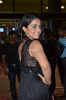 Wamiqa Gabbi in a sleeveless Black Designer Transparent Gown at 64th Jio Filmfare Awards South ~  Exclusive 058.JPG