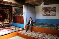 Tajikistan, Garam Chashma, Pamirian House, Gulom, topchan, © L. Gigout, 2012