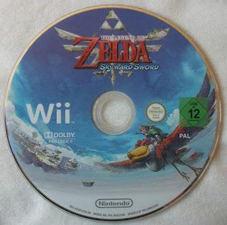 The Legend Of Zelda - Skyward Sword - Disco juego