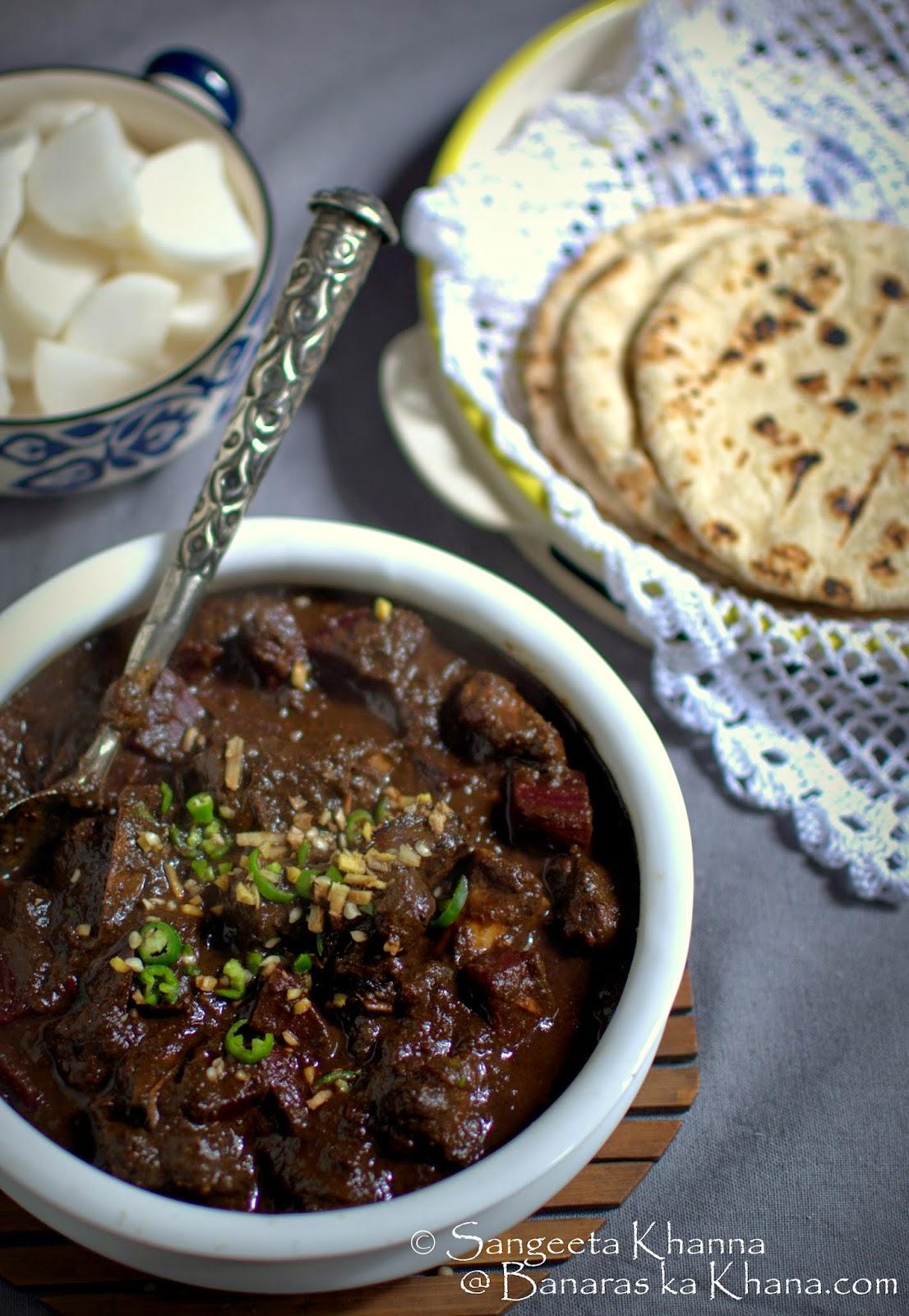 chukandar gosht recipe