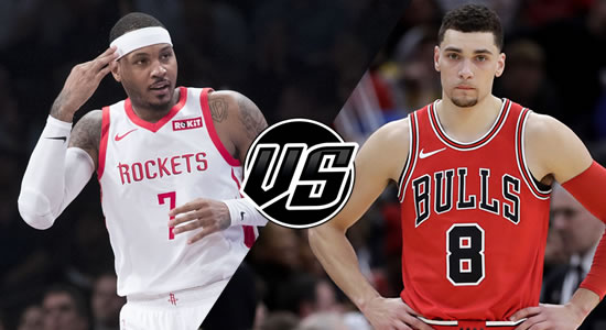 Live Streaming List: Houston Rockets vs Chicago Bulls 2018-2019 NBA Season