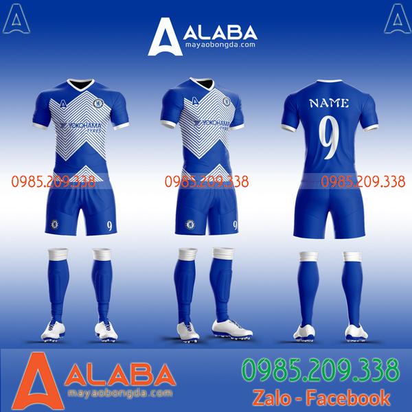 Áo Chelsea đặt may mã ALB CH07 ấn tượng