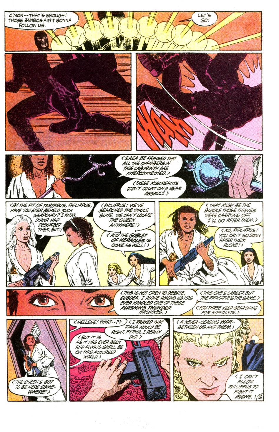 Read online Wonder Woman (1987) comic -  Issue #54 - 19