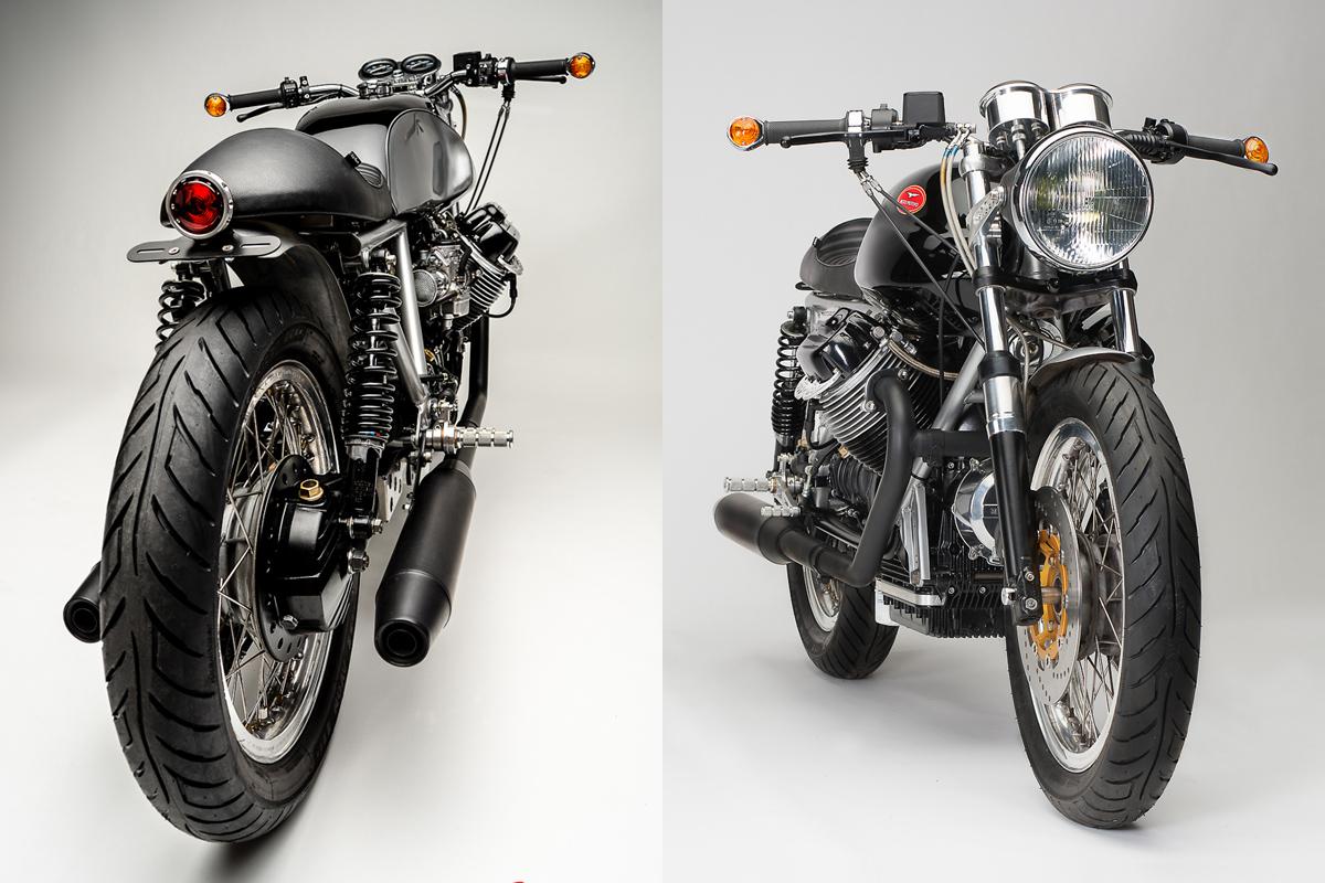 Cafe Racer Moto Guzzi Parts