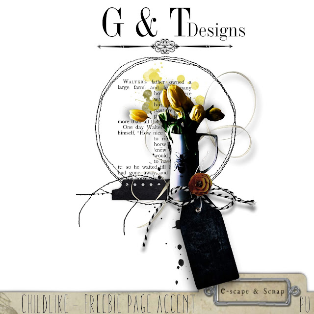 G & T Designs - Childlike kit & Freebie