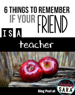 Help show your teacher friends a little appreciation with these tips, which are all easy, cheap (or free!), and low effort. These are all things you should remember if your friend is a teacher! Click through to read the full post.