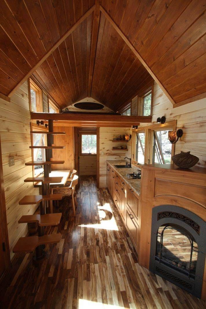 05-Kitchen-and-Dining-Room-Simblissity-Tiny-House-Stone-Cottage-on-Wheels-www-designstack-co