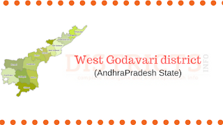 West Godavari District , Mandals  and Tourist places