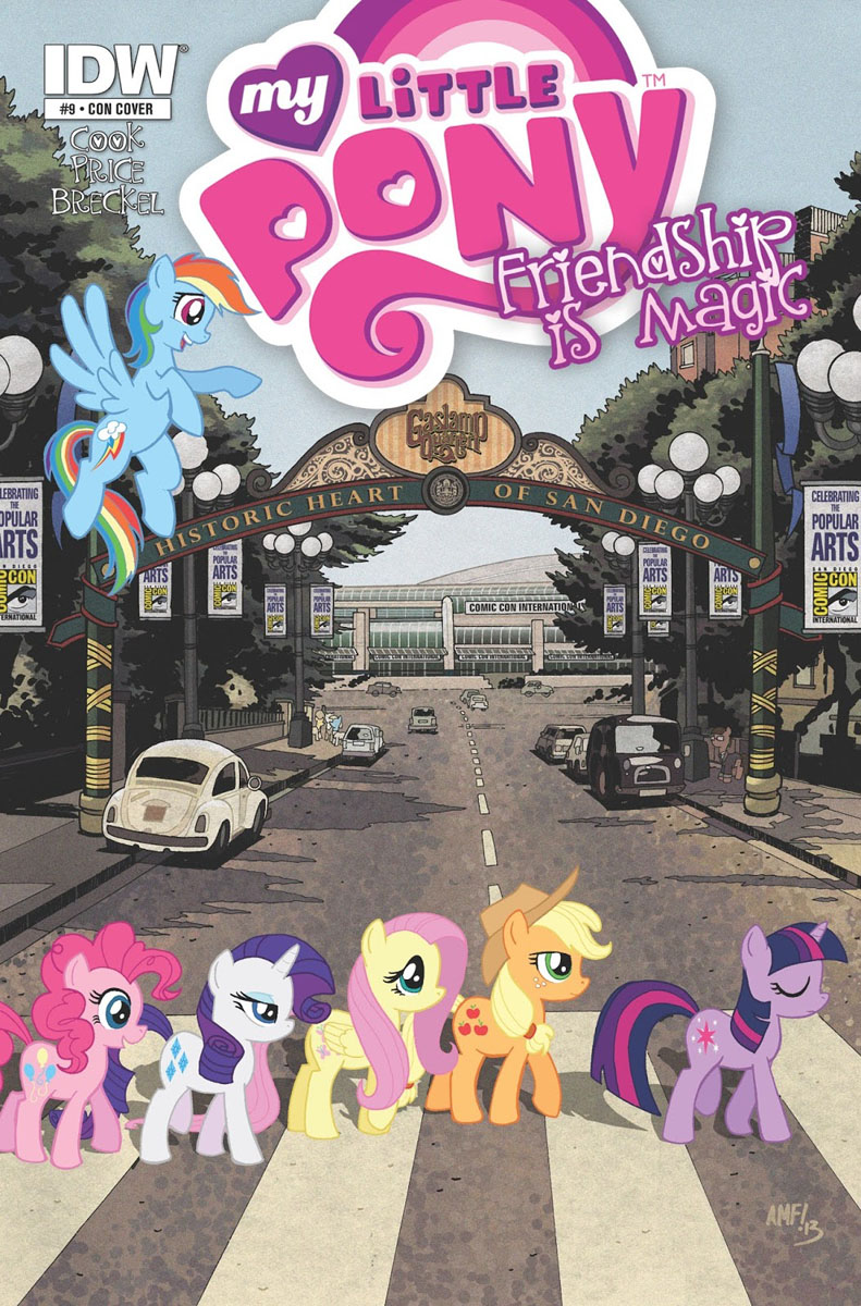 mlp san diego comic con 2 comic covers mlp merch