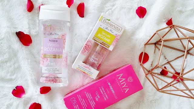 Różana pielęgnacja cery suchej i wrażliwej | Bielenda i Miya Cosmetics