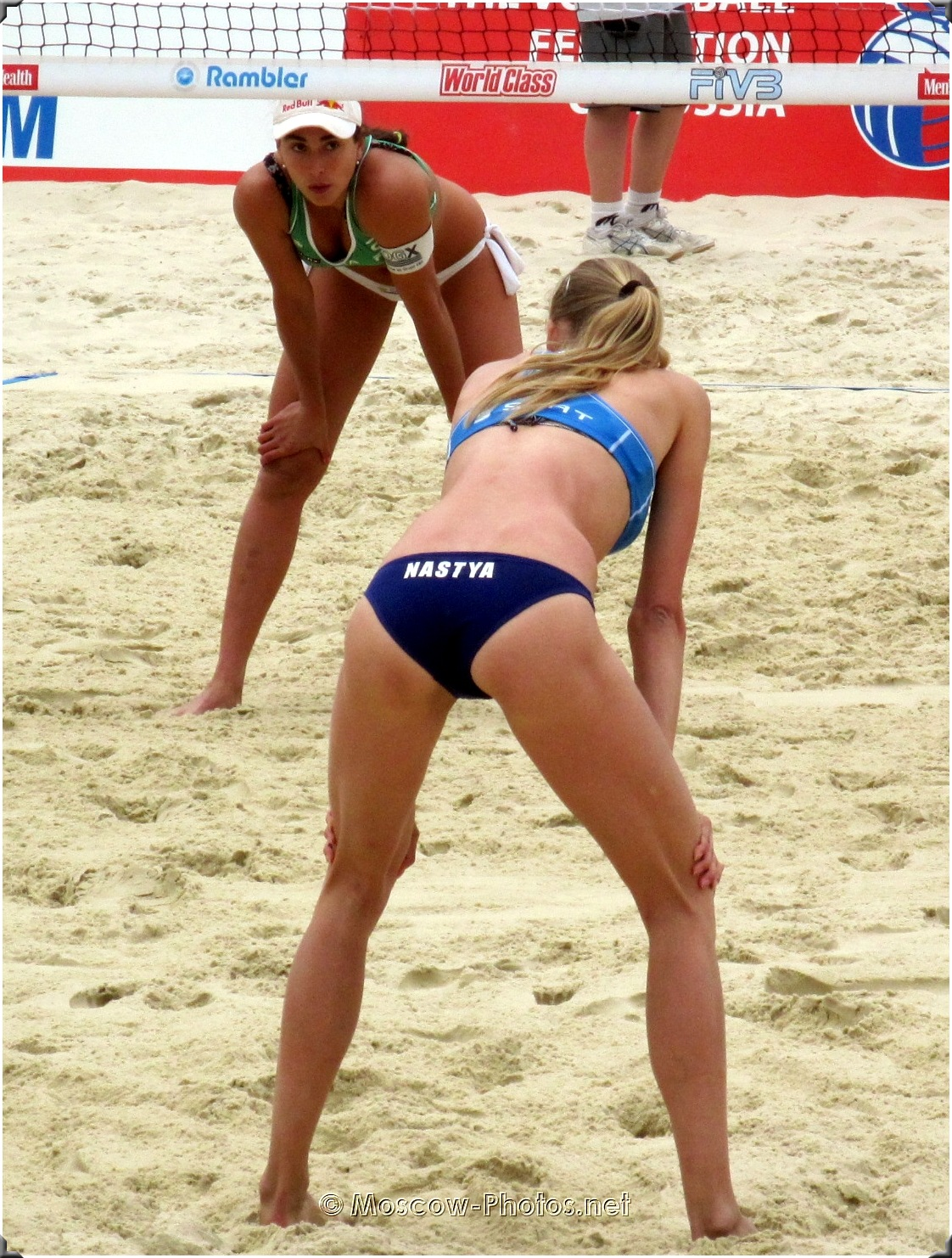 Russian Beach Volleyball Player Anastasia Vasina