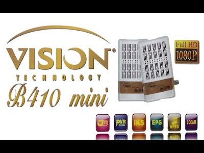 Flash mise à jour vision b410 mini تحديث