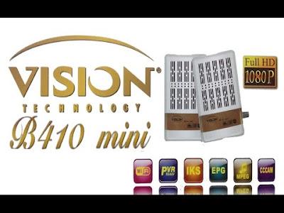 Flash mise à jour vision b410 mini تحديث