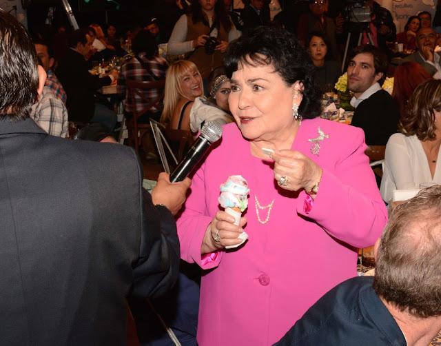 Terminaran en la cárcel todos aquellos que ofendan a los Diputados del PRI, amenaza Carmen Salinas