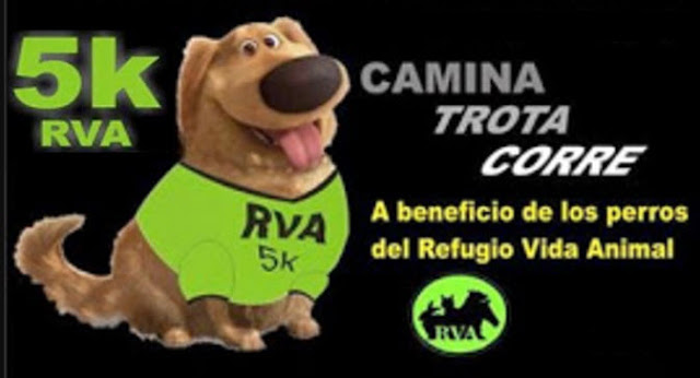 5k Refugio Vida Animal - RVA (Montevideo, sábado 05/ago/2017)
