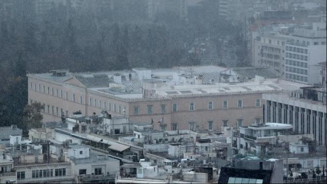 Η Τηλέμαχος έφερε χιόνια στην Αττική