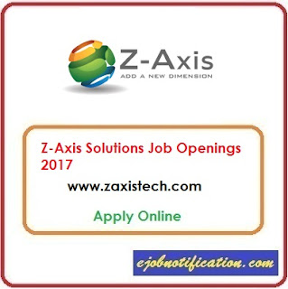Z-Axis Tech Solutions Hiring Freshers Java Developers Jobs in Hyderabad Apply Online