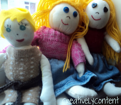 Upcycling Clothes to Dolls Clothes