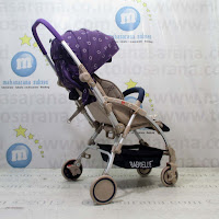 BabyElle BS-S928RS Avio Hadap Depan atau Belakang Baby Stroller - Purple