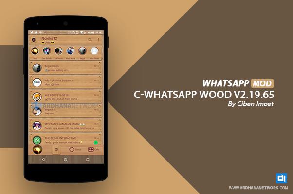 C-Whatsapp Wood V2.19.65 By Ciben Imoet