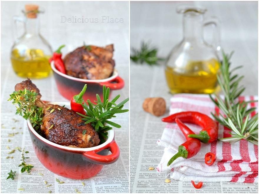 Kurczak w czekoladzie i chili