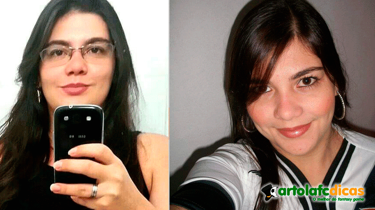 Janaina é a representante do vasco no Cartola fc 2015