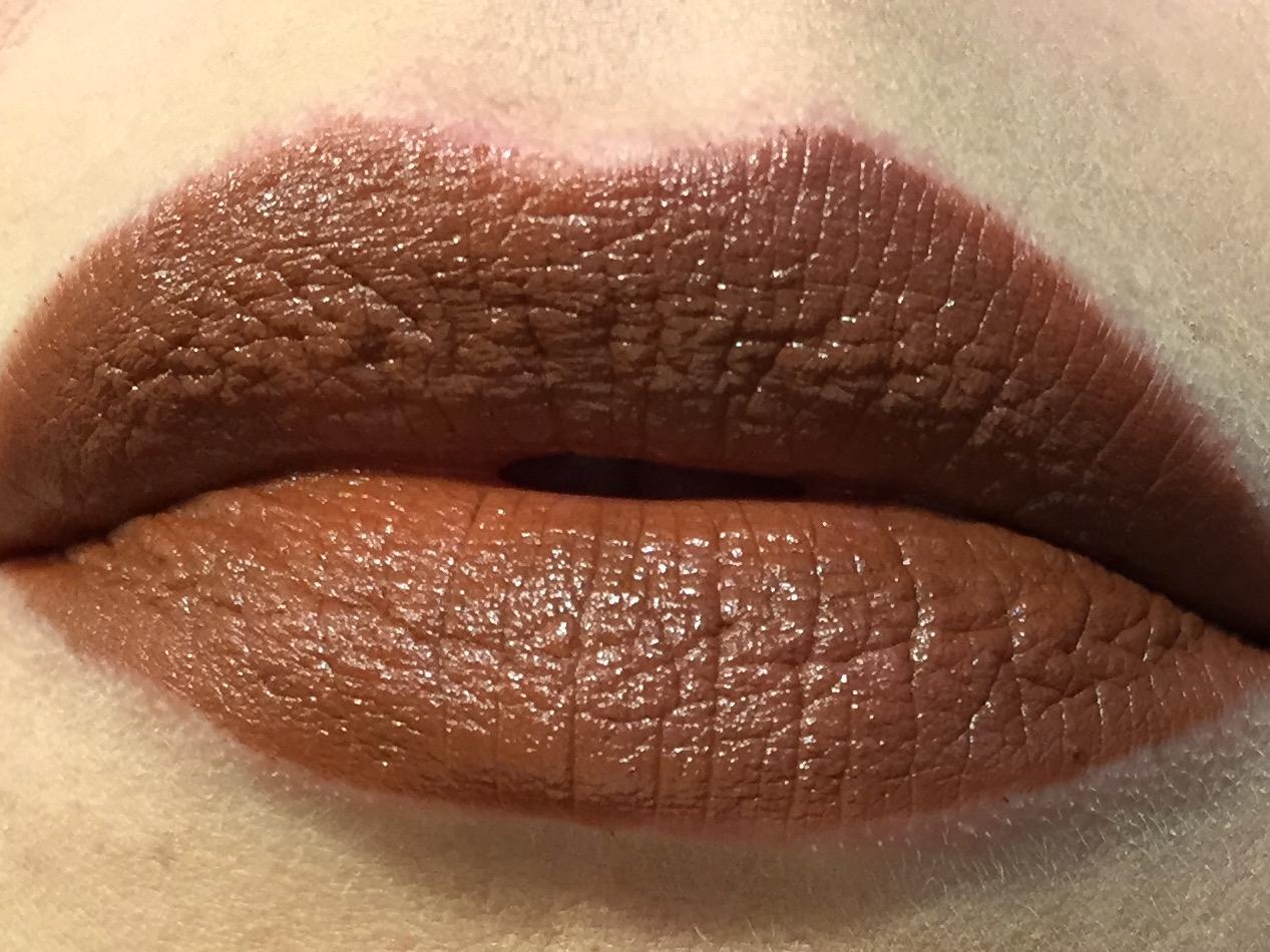 Mac Dark Brown Lipstick