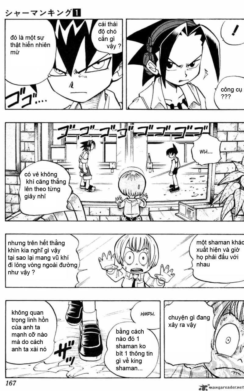 Shaman King [Vua pháp thuật] chap 7 trang 6