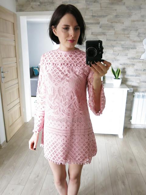 ♥♥♥ SheIn Valentine's Day - różowa sukienka oraz czarna bluzeczka ♥♥♥