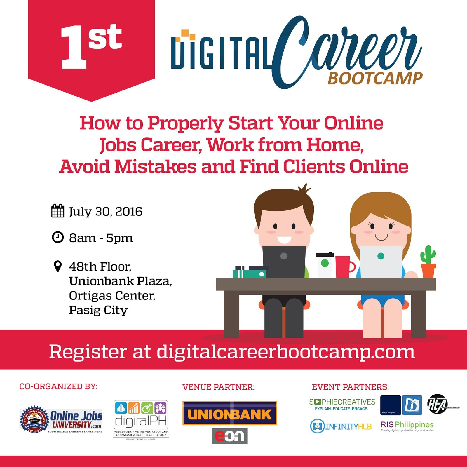 DICT co organize 1st Digital Career Bootcamp to promote online