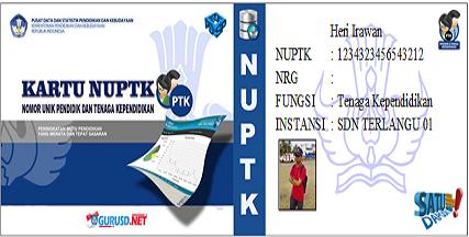 Download File Aplikasi Kartu NUPTK Yang Selama ini Dicari Gratis