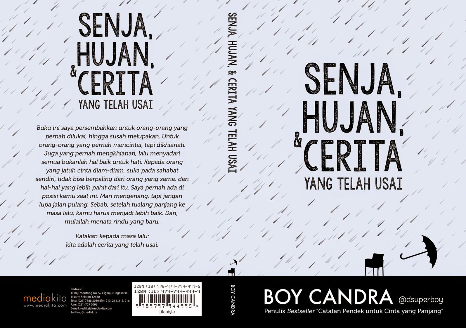 Resensi Novel Boy Candra Senja Hujan Dan Cerita Yang Telah Usai