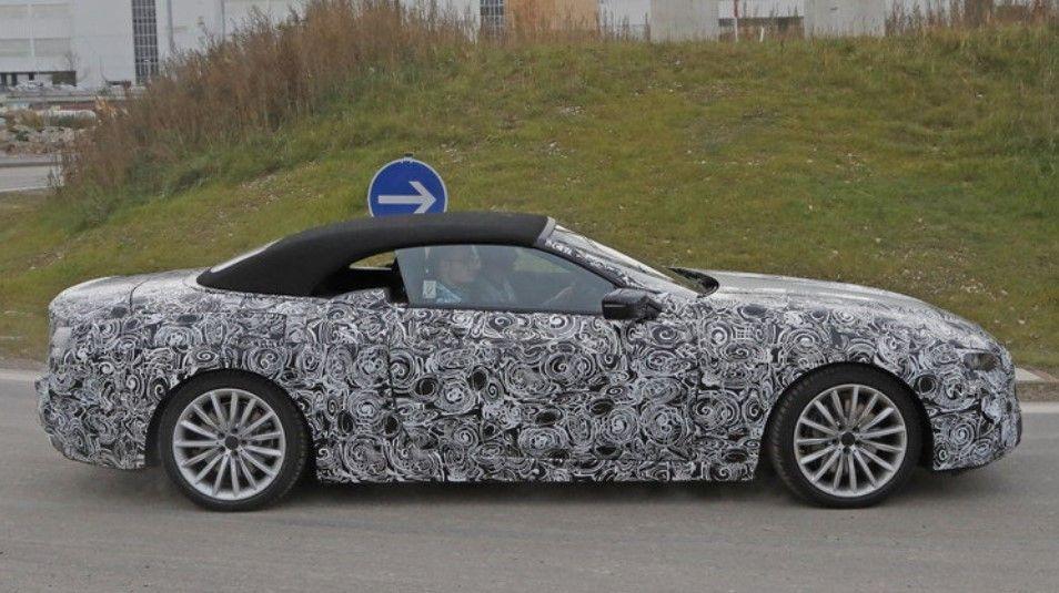 2019 BMW 6Series8Series Convertible spy shot  MsBlog