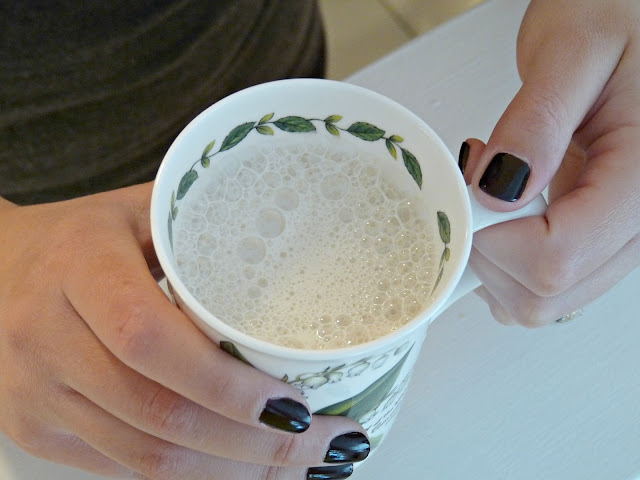 Make a tea latte at home