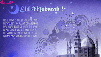 eid mubarak beautiful wish cards, message and blessing quotes 18