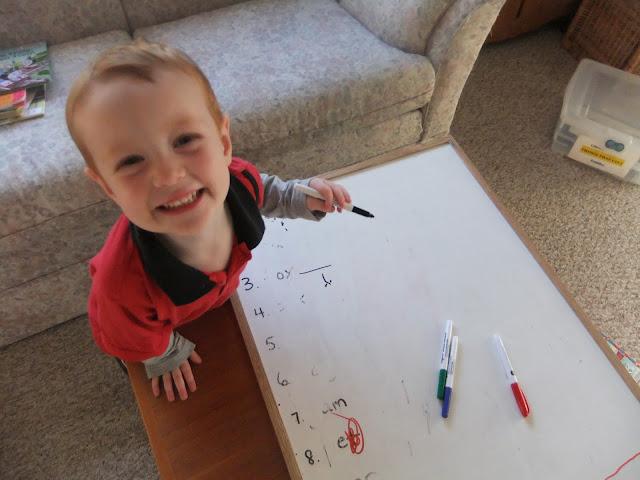 Organizing a Homework Station for Kids