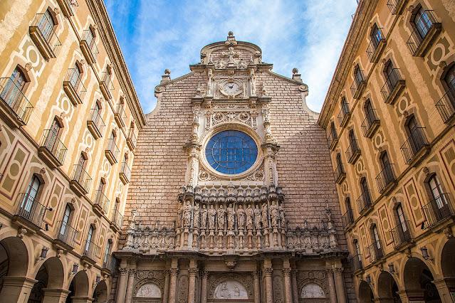 montserrat monastery Barcelona Spain travel tourism photography