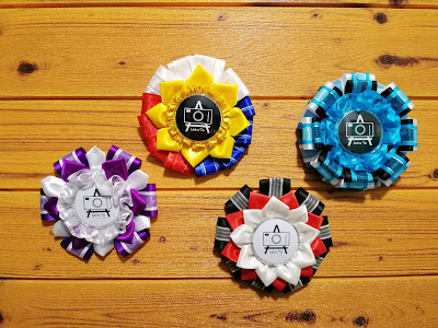 Personalized rosette designs for various clients. Each designs are unique for each client's logo and event theme.