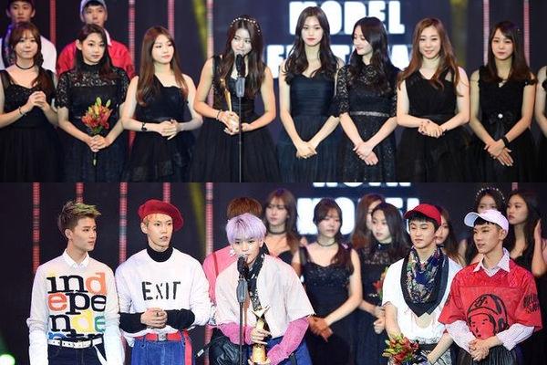 Baru Saja Debut, I O I dan NCT U Raih Penghargaan di 'Asia