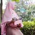Bergo Audria Antem Pad Elmina - Bergo Syari Antem Pad - Jilbab Syari Antem Pad - Bergo Elmina Hijab