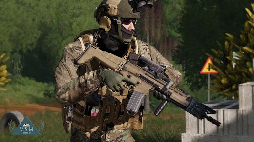 Arma3に装備を追加するProject Zenith MODが開発中