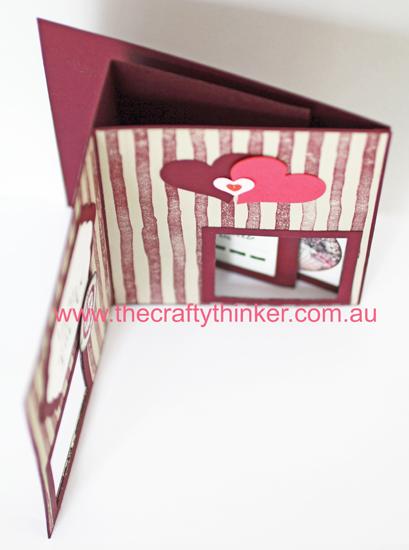 SU, Traveler, Peak A Boo card, Fun Fold, Masculine card, Peakaboo, Peak-a-boo