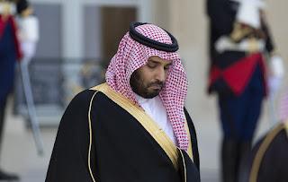 ولي عهد المملكة العربية السعودية الامير محمد بن سلمان آل سعود يصل إلى مصر