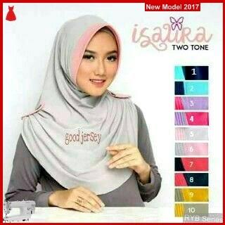RYB085B Jilbab Instant Cantik Isaura Murah Two BMG Online Shop
