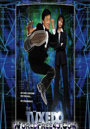 Poster Of The Tuxedo In Dual Audio Hindi English 300MB Compressed Small Size Pc Movie Free Download Only At worldfree4u.com