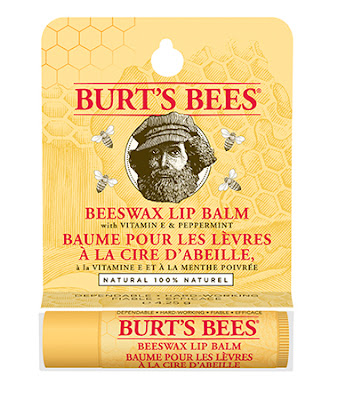 Burt's Bees Beeswax Lip Balm - Top 5 Best Favourite Lip Balms Under $10