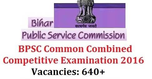 BPSC 60th, 61st & 62nd Common Combined Competitive Examination 2016